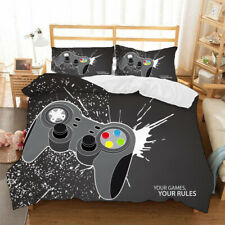 Gamepad Bedding Set 3PCS Of Duvet Cover Pillowcases Comforter Cover US Size
