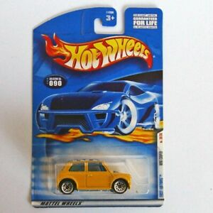 Hot Wheels 2000 First Editions Mini Cooper Long Card
