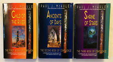 THE CONFLUENCE TRILOGY Complete 3 Book Set Paul J McCauley
