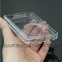 Clear Crystal Hard Case Cover Shell Protector For Apple iPod Classic 80/120GB