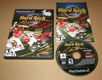 Hard Rock Casino for Playstation 2 PS2 Complete Fast Shipping!