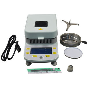 Brand New 10mg Lab Moisture Analyzer with Halogen Heating DSH-50-10 110V
