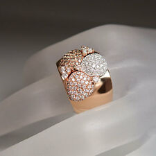 Al Coro Ring 1,70ct Brillant teils Champagner 18K Weiß-/Rosegold UVP. 7.200,- €
