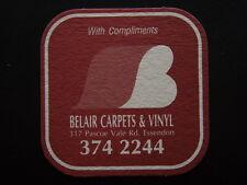 BELAIR CARPETS & VINYL 317 PASCOE VALE RD ESSENDON 3742244 COASTER