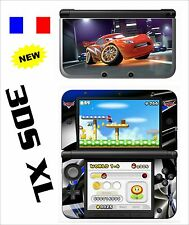 SKIN STICKER AUTOCOLLANT DECO POUR NINTENDO 3DS XL - 3DSXL REF 25 CARS