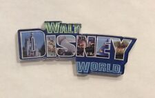Disney Parks WDW Walt Disney World Logo Acrylic Magnet Photograph Letter