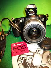 Canon EOS 500 mit Canon lens EF 4-5,6/28-90mm