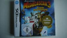 Madagascar 3 - Flucht durch Europa - Nintendo DS Spiel - NEU