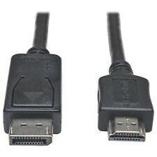 Tripp Lite Displayport To Hd Audio/video Adapter Cable M/m 1080p 15' -
