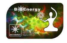 New Authentic Anti Radiation Bio-Energy Quantum Science Scalar Energy Ion cards