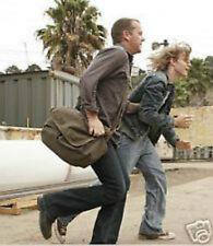 Jack Bauer TV 24 Black Bag Pack Messenger Tasche Kiefer Sutherland CTU green NEW