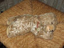 Old Antique Hermann Germany Mohair Sleeping Zotty Bear 25CM ID