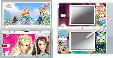 Nintendo DS Lite-Barbie Princesse - 4 piece Decal Autocollant peau