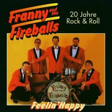Rare CD NEU + OVP 20 Jahre Rock 'n' Roll Franny And The Fireballs ROCKABILLY