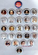 capsule de champagne Générique  /// série des 25 présidents Français ///