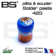pate à souder Solder paste SMD SMT 42g 63/37 STM32 ESP32 BS10205