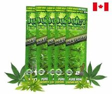 Juicy Jay's Hemp Wraps Natural (5 Packs, 2 Wraps/Pack) Total 10 Wraps