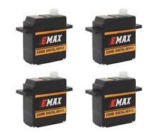 4x Emax ES09D Digital Micro Mini Servo 11,6g 0,09s 2,5kg mit Kugellager ES08D