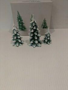 "Department 56  ""Wintergreen Pines"" Set of 3 # 52660"