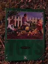 John Deere ERTL Replicas Toy Catalogue Dealer's Brochure 1992
