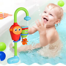 Baby Gift Cartoon Flow 'N' Fill Spout Bath Toy Learning Fun Toy Set -LJ NEW