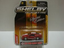 Shelby Collectibles 2011 Shelby GT350 Gold Card 1:64 Diecast C56-204
