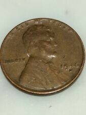 1946-D Lincoln Wheat penny, WWII, Brass shell casing, HARD DATE & MINT