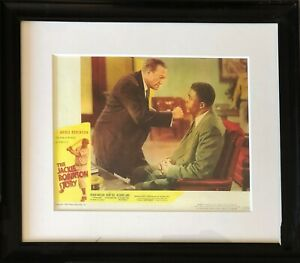 Jackie Robinson Movie Poster Framed