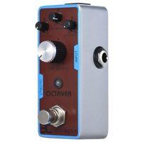 ENO Ex Oct-1 Mini Octave Gitarren Effekt Pedal Analog True Bypass Full Q2C2