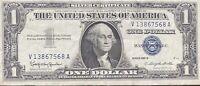 USA 1 Dollar 1957 B Silver Certificate One Banknote Schein Gute Erhaltung #21969