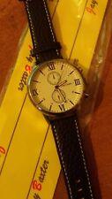 orologio crono-look Jay Baxter cinturino vera pelle-garanzia-nuovo- b188 C