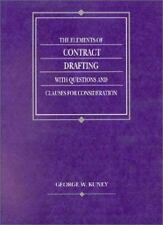 Elements of Contract Drafting With Questions and Clauses for Consideration (Amer