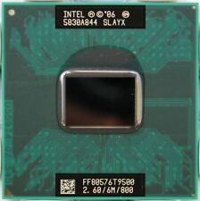 NEW! Intel Core 2 Duo T9500 SLAYX 2.6 GHz 6M ship worldwide for PM965/GM965 chip