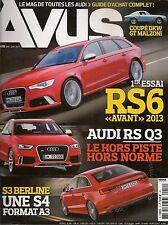 AVUS 19 AUDI RS6 RS3 TT QUATTRO SPORT Q7 V12 TDI S8 A3 SPORTBACK DKW GT MALZONI