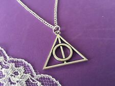 Deathly Hallows Necklace, Harry Potter Inspired Neclace