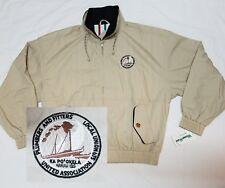 Plumbers & Pipefitters UA Local Union 675 HAWAII Jacket Mens Large - Beige - NWT