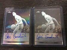 2012-13 Leaf Metal Basketball Gail Goodrich 17/50 auto Autograph Lot 2 Lakers