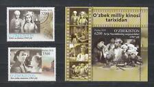 Uzbekistan Usbekistan MNH** 2018 Mi.1336-39 Bl.92 Uzbekistan Cinema Classics