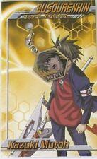 Buso Renkin Kazuki Fastener Metal Charm Anime Manga Game MINT