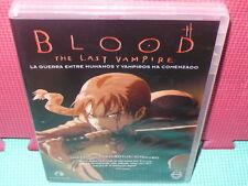 BLOOD - THE LAST VAMPIRE-  ANIME - MANGA