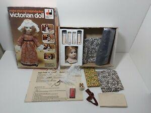 DEKKER Reproduction Victorian Doll Kit Vintage 1970's
