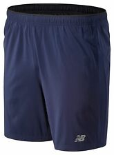 New Balance Men's Core 7 In Woven Short Navy