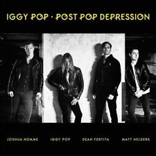 Post Pop Depression [LP] by Iggy Pop (Vinyl, Mar-2016, Universal Music)