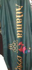 New listing Vintage Emerson Usa 1996 Centennial Olympic Games Flag Banner 3 x 5.kurt angle.