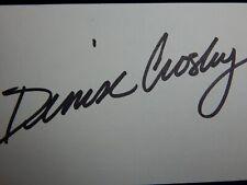 Denise Crosby Pet Sematary Star Trek  Actress Autograph Signature Signed Card