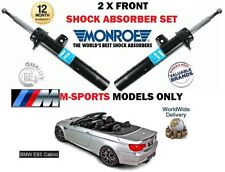 FOR BMW E93 318 320 325 + DIESEL M SPORT 2X FRONT LEFT+ RIGHT SHOCK ABSORBER SET