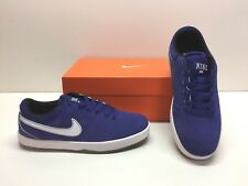 0c50adca4ef3 Nike SB Rabona Training Casual Royal Blue Suede Sneakers Shoes Mens 6.5  Womens 8