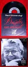 Single Henri Nannen singt - Das gibt´s nur einmal... Sonderpressung 1989