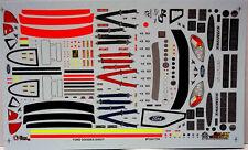 NASCAR DECAL 2000 - 2003 FORD TAURUS GOODIE DETAIL SHEET 1/24 SLIXX