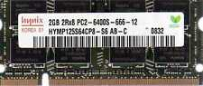 2GB HP BUSINESS NOTEBOOK NC2400 NC6320 NC6400 NC8430 NX6310 NX6320 DDR2 Memory